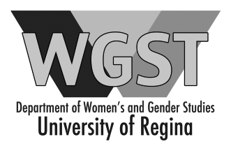 Department of Women's and Gender Studies - University of Regina